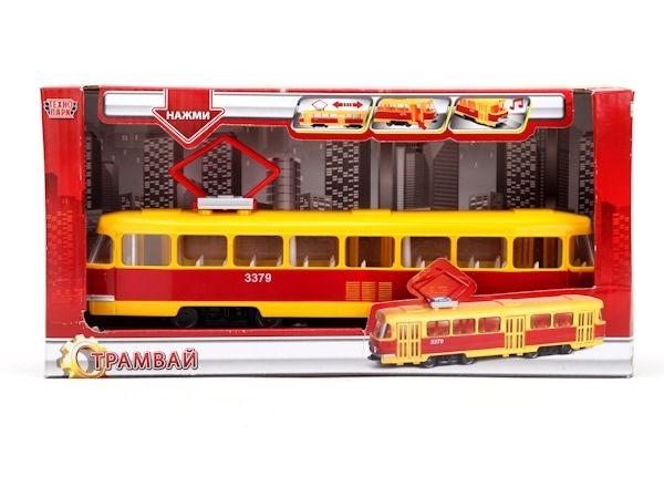 Модель Трамвай Технопарк