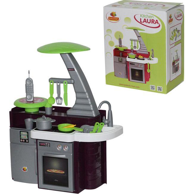 Кухня Лаура с варочной панелью