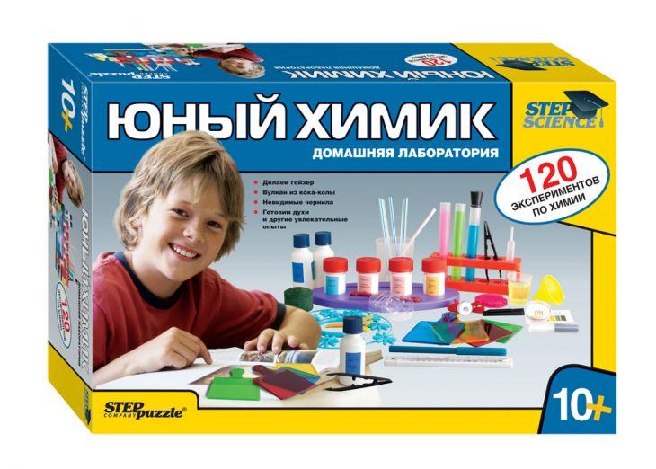 Домашняя лаборатория. Юный химик