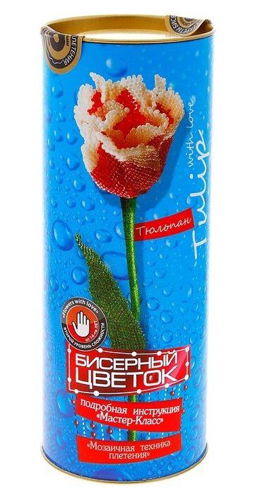 Бисерный Цветок. Тюльпан