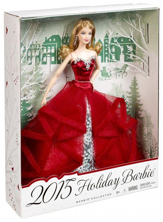 Barbie праздничная коллекционная 2015