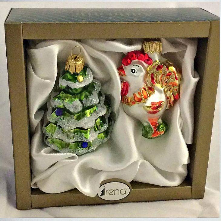 Ёлочные игрушки набор подарочный Символ года, Irena Co (Vitus)