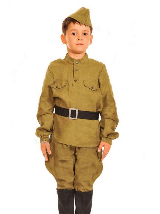 Военная форма для мальчиков Солдат