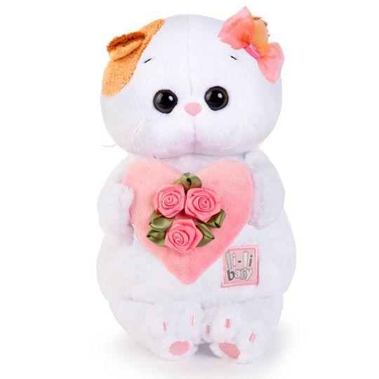 Ли-Ли Кошечка BABY с розовым сердечком